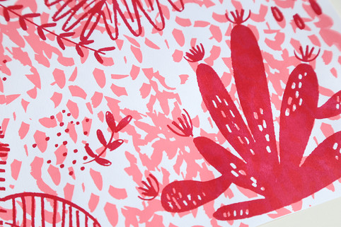 Screenprint Selva