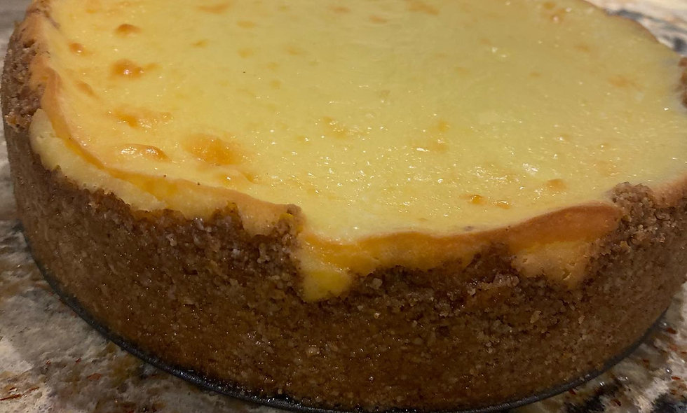 New York Style Cheesecake 9 inch