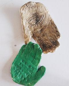 Tactical Creativity- Air Dry Clay Hands