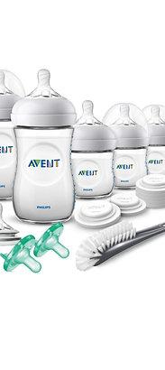 Philips Avent Natural Bpa Free Baby Bottle Newborn Starter Gift Set, SCD296/03