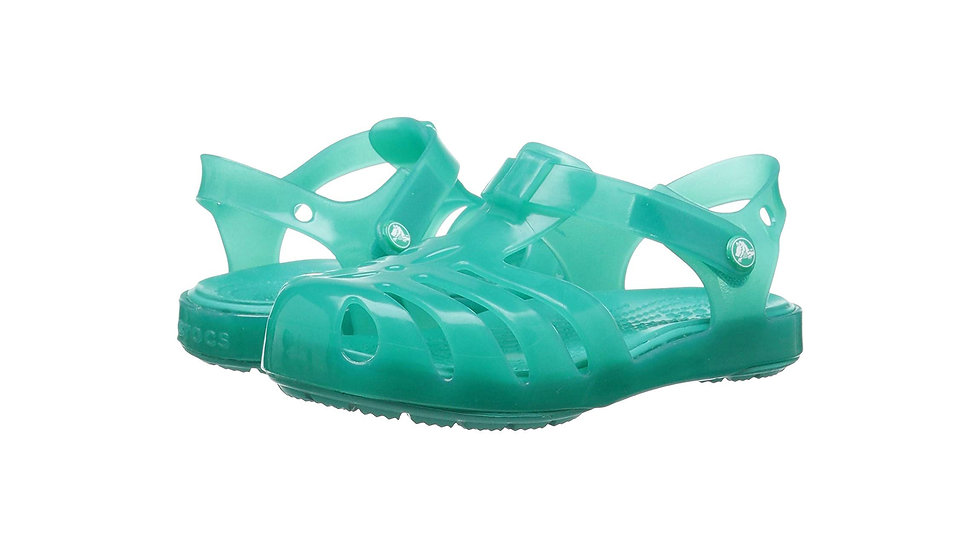 Crocs Kids' Girls Isabella Sandal Tropical Teal