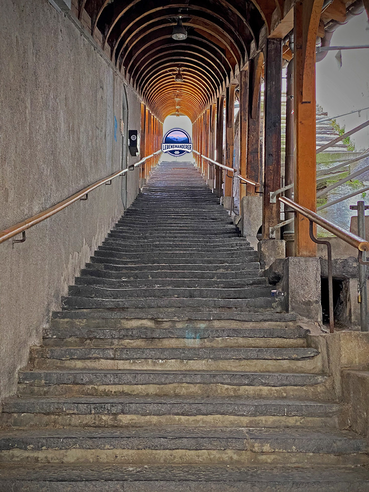 Kirchtreppe in Thun