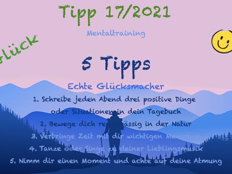 Tipp 17/2021 - Ich bin glücklich! 🍀