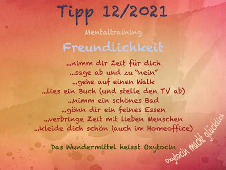 Mentaltipp 12/2021 - Freundlichkeit