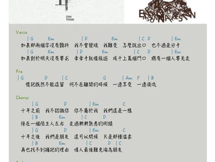十年-陳奕迅