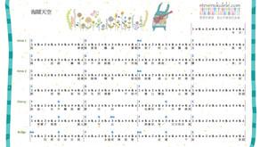 Excel 譜 - 海闊天空