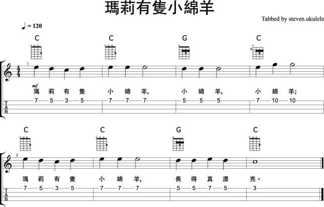 littlelamb-melody