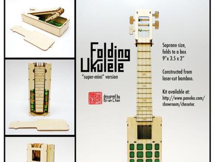 Foldulele & Boxulele – Folding Ukulele