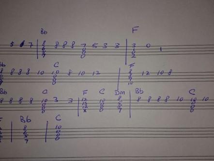 Q&A:海闊天空 Chord Solo -Chorus部份