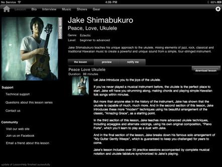 Jake Shimabukuro – iPad