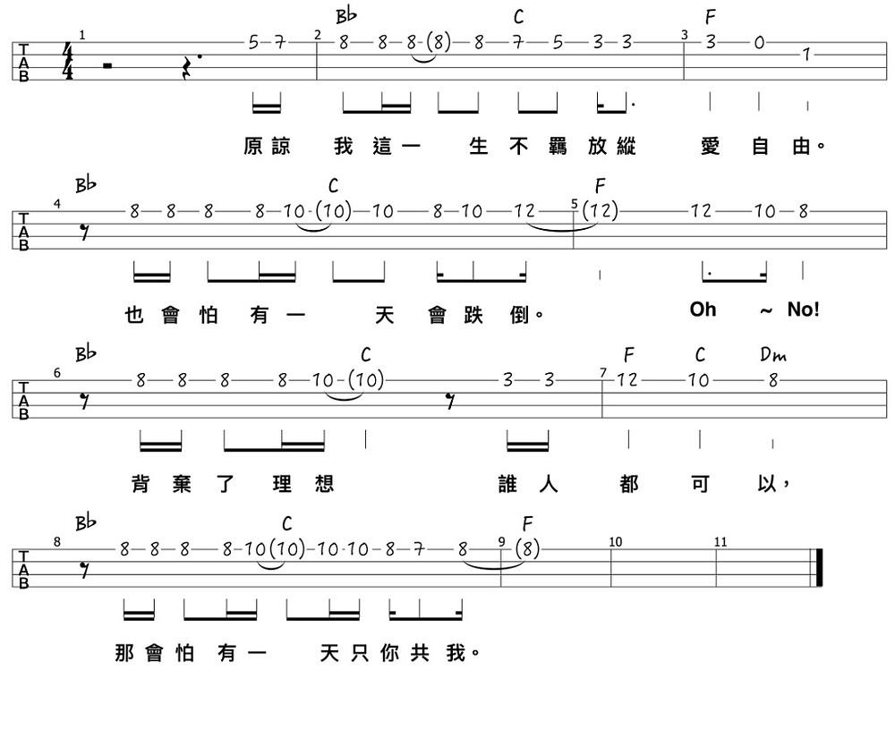 honford-chorus-melody
