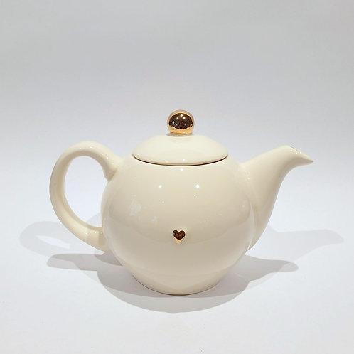 Dzbanek-czajniczek - ecru