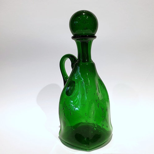 Karafka butelkowa zieleń