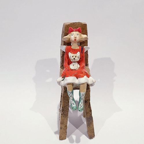 Na krzesełku z pieskiem5