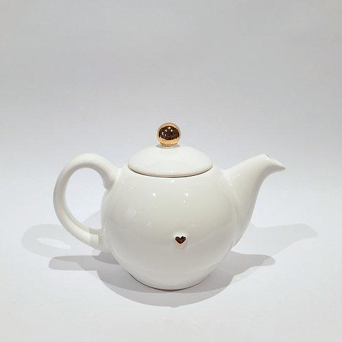 Dzbanek-czajniczek - biały