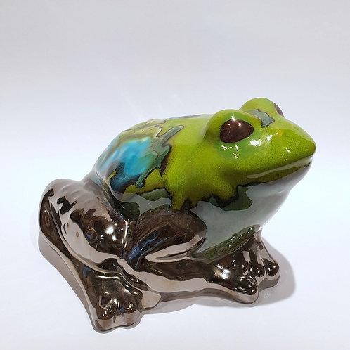 Żaba duża zielona