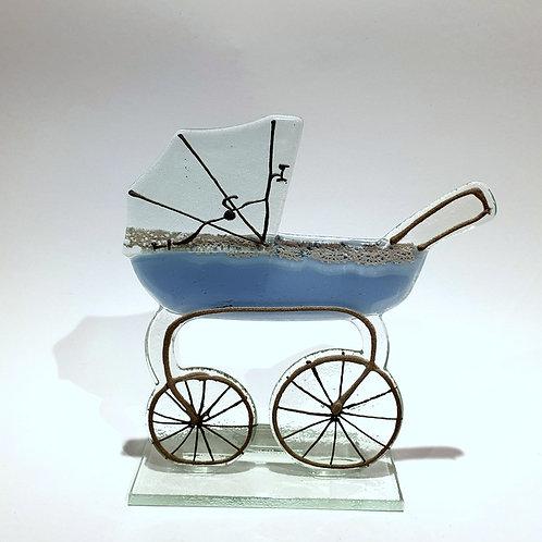 Wózek błękitny