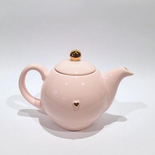 Dzbanek-czajniczek - różowy
