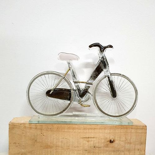 Rower damski - różowe siodełko