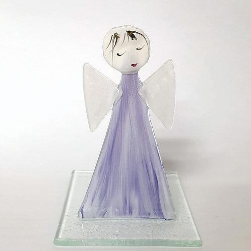 Aniołek malowany tealight2