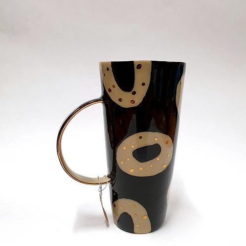 Kubeczek ziarnko kawy duży czarny
