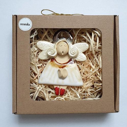 Aniołek wiszący ceramiczny7