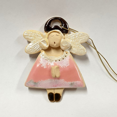 Aniołek wiszący ceramiczny