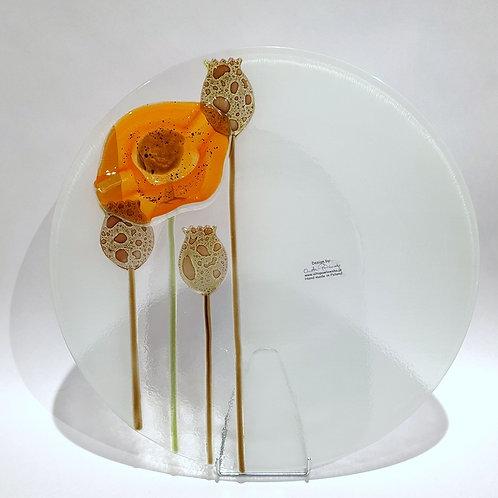 Patera mak - pomarańczowy