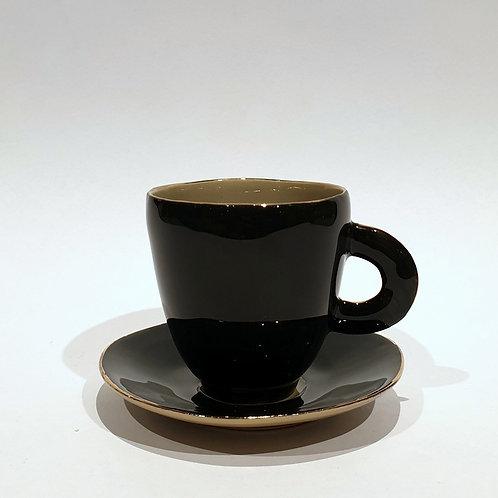 Filiżanka do kawy, czarna
