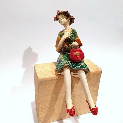 Dama z torebką