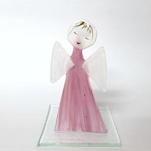 Aniołek malowany tealight3