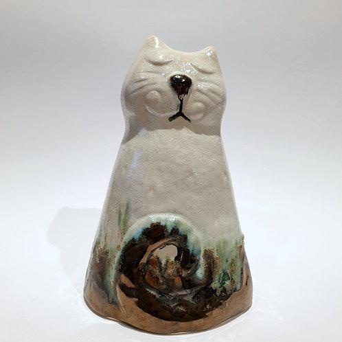 Kot walec mały biały