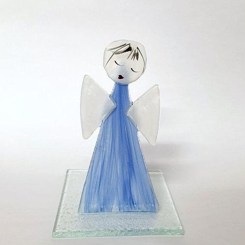 Aniołek malowany tealight4