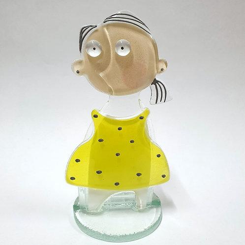 Polpol Ane - żółta sukienka