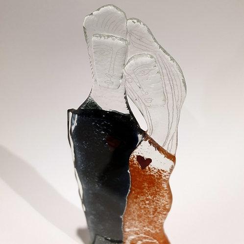 Para szklana mała