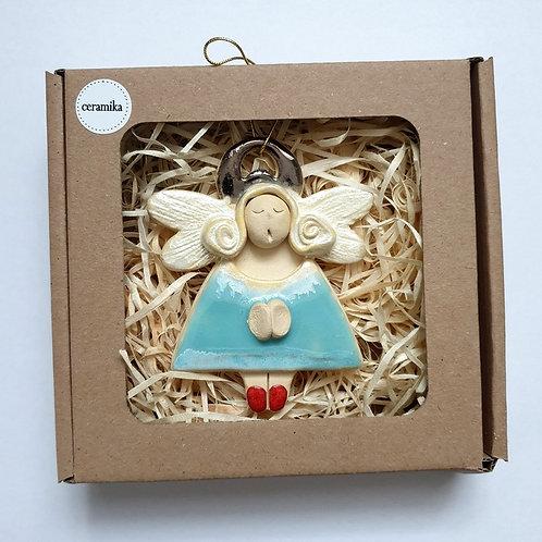Aniołek wiszący ceramiczny8
