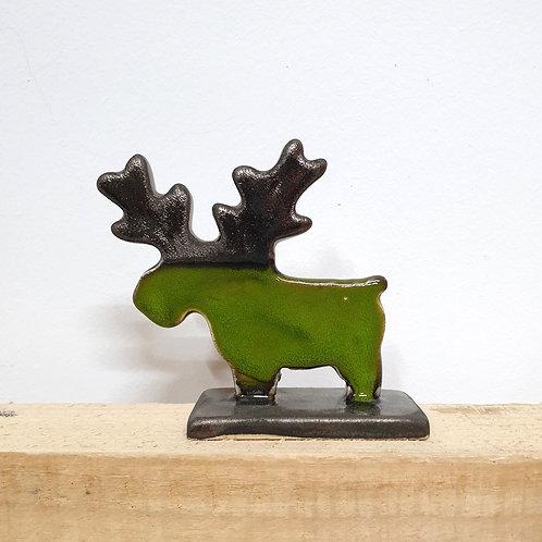 Renifer mały zielony