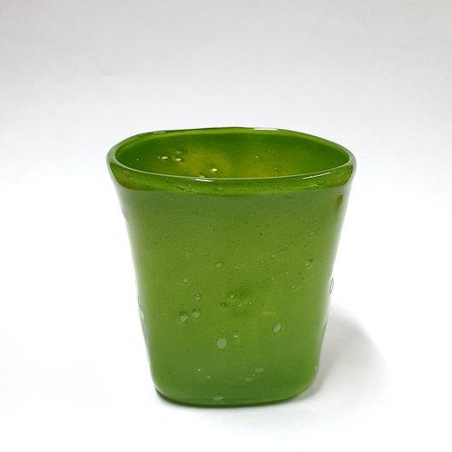 Szklanka zielona