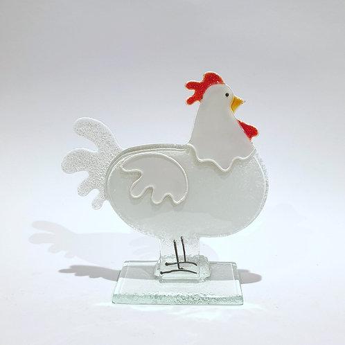 Kura mała biała