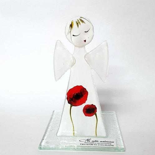 Aniołek malowany tealight9