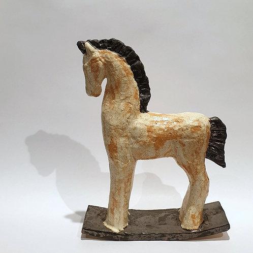 Rzeźba ceramiczna - koń2