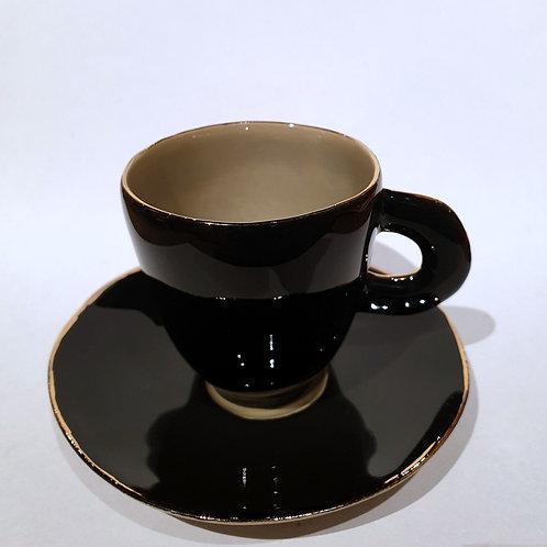 Filiżanka do espresso, czarna