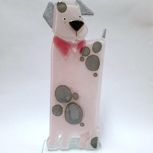 Pies Rufus - różowy