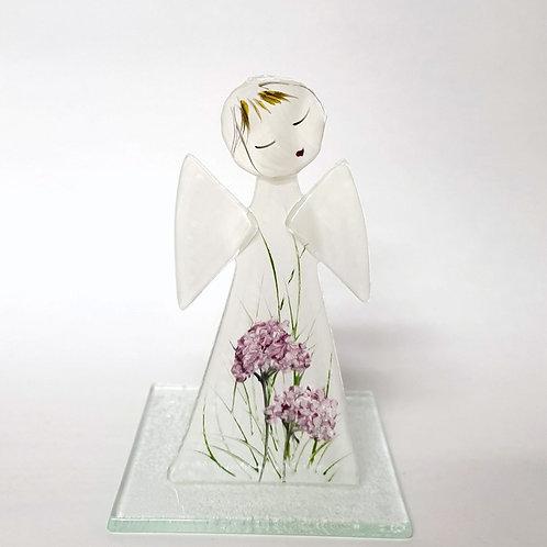 Aniołek malowany tealight8