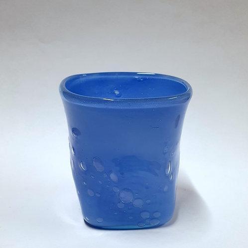 Szklanka błękitna