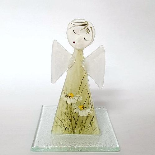 Aniołek malowany tealight5