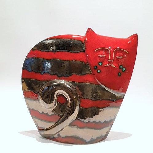 Kot sfinks czerwony