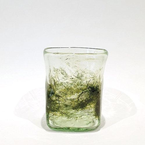 Szklanka przezroczysta zdobiona1