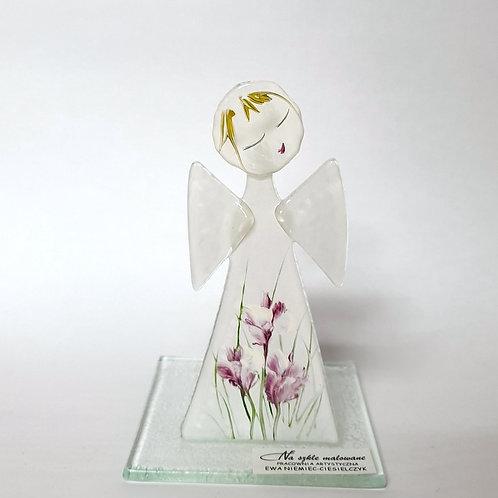 Aniołek malowany tealight10