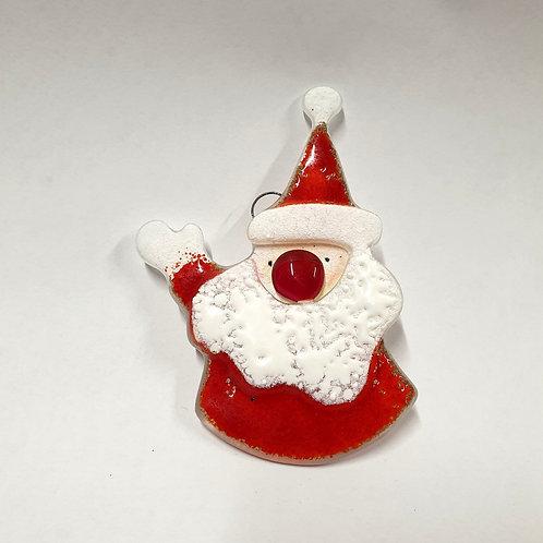 Mikołaj czerwony zawieszka